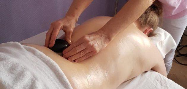 Sten Massage – Med heta HUKKA stenar